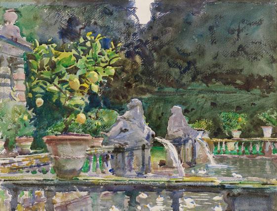 John Singer Sargent water-color
