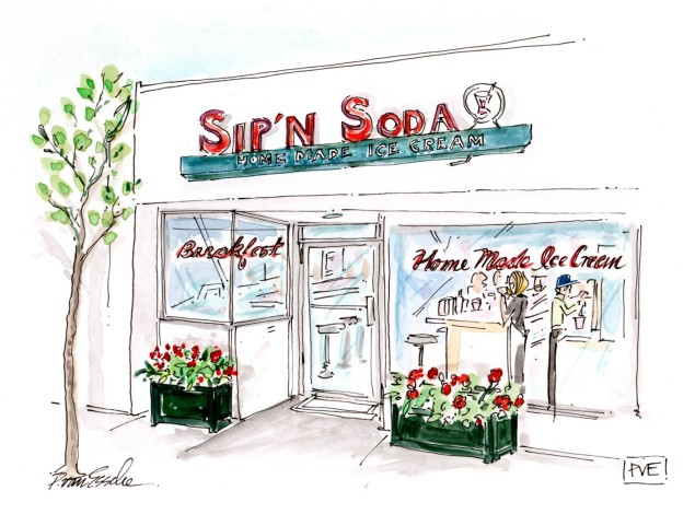 Sip'n Soda shop