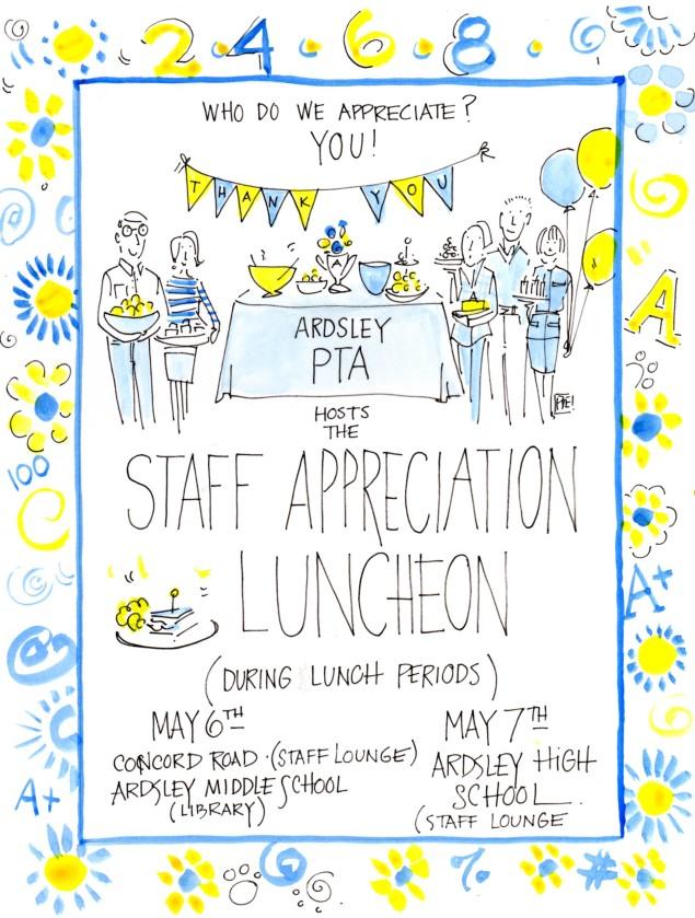 PTA- Staff Appreciation 464
