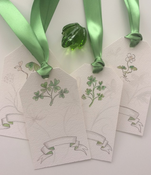 pve - st. patrick's gift tags -photo
