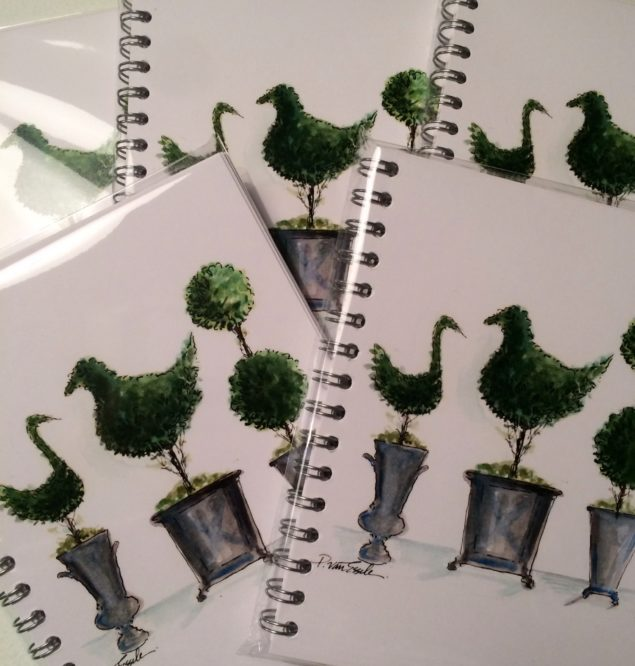 PvE - Topiary Trio notebooks-photo